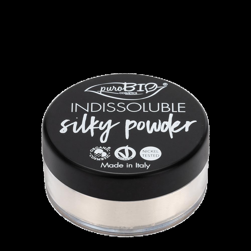 indissoluble silky powder purobio
