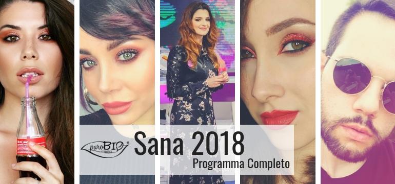 Sana 2018 programma completo