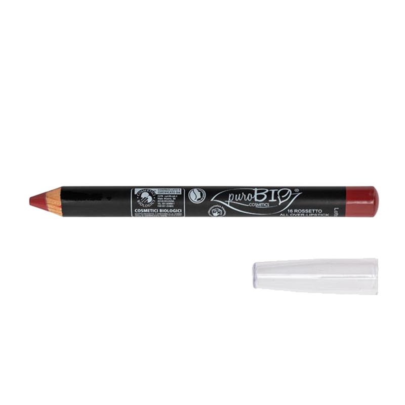 matitone-rossetto-purobio16 rosso