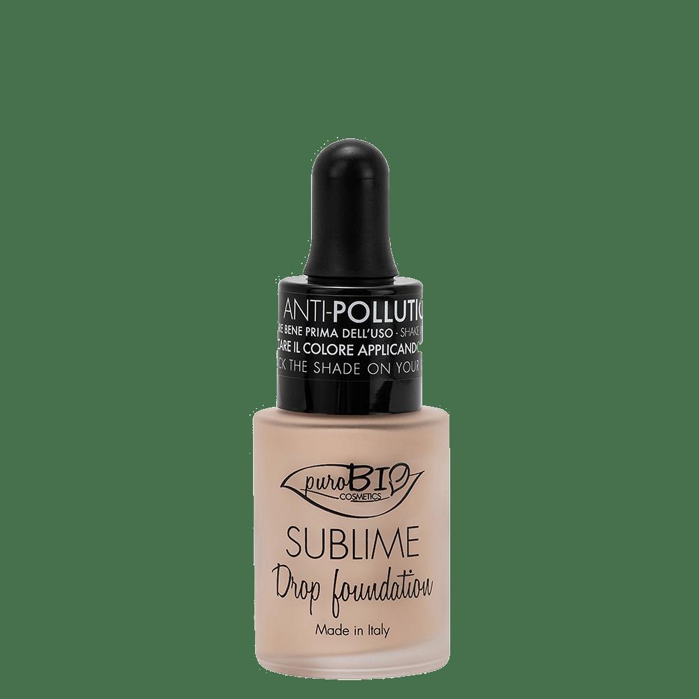 Drop Foundation n 01y puroBIO cosmetics
