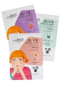 maschera viso olivia purobio for skin