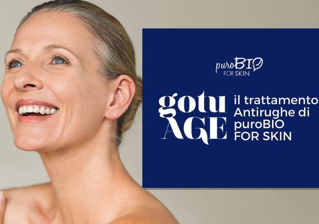 gotuAGE il trattamento antirughe di puroBIO for Skin
