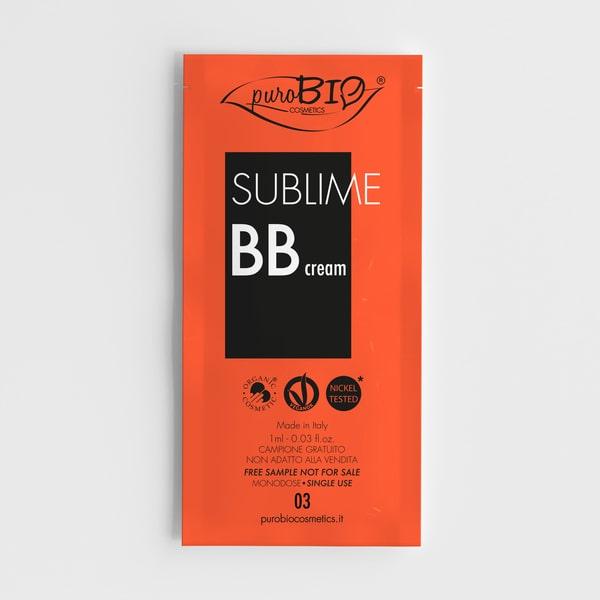 Campioncino sublime bb cream n.03 puroBIO cosmetics